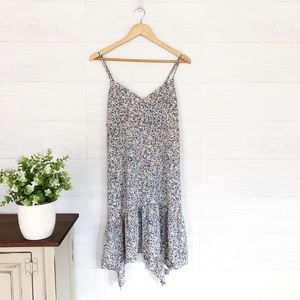 NWT Anthro, Floral Mini Spaghetti Strap Dress